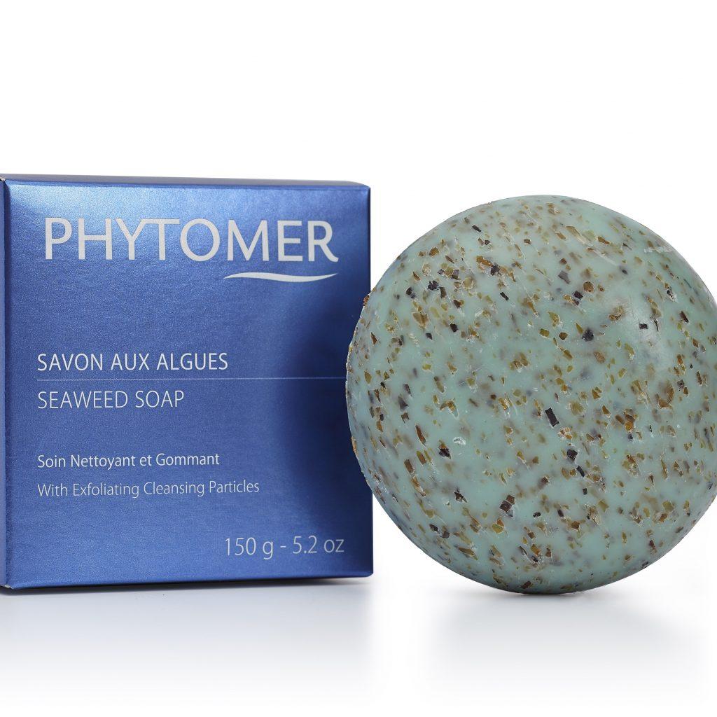 Produit Phytomer Savon aux algues au Spa du Domaine de cicé-Blossac